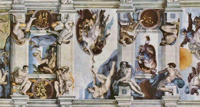 HISTORIA DEL ARTE; CAPILLA SIXTINA